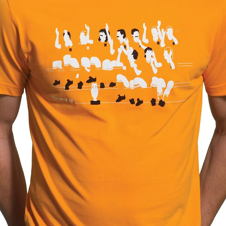 6584 | Remember '88 T-Shirt | Orange  | 2 | COPA