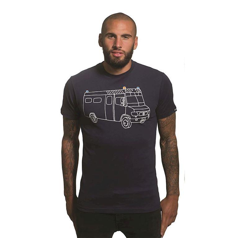 6658 | Riot Van T-Shirt | Marine Blue | 1 | COPA