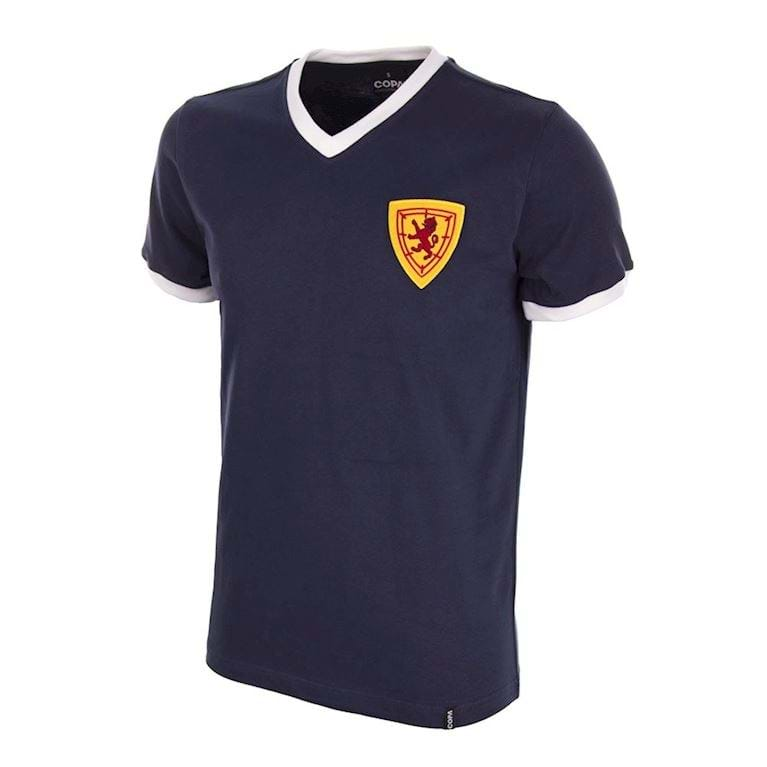 550   Scotland 1960's Retro Football Shirt   1   COPA