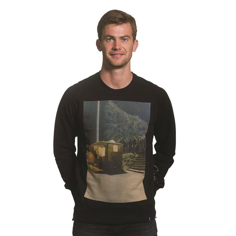 6447   Snack Bar Sweater   Black   1   COPA