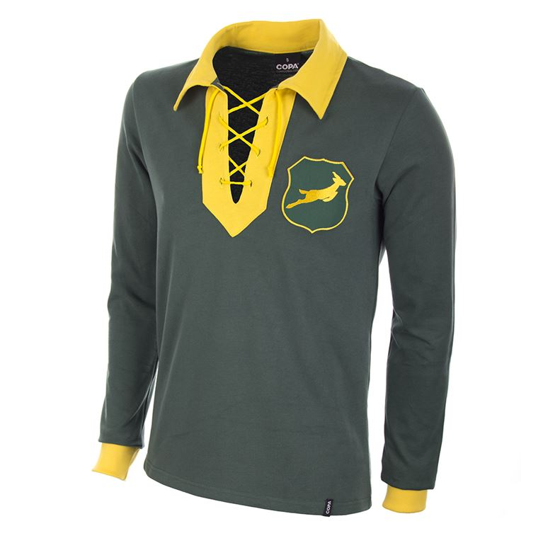 450 | South Africa 1947 Long Sleeve Retro Football Shirt | 1 | COPA
