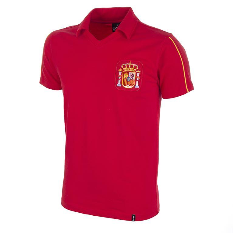 209 | Spain 1980's Short Sleeve Retro Football Shirt | 1 | COPA
