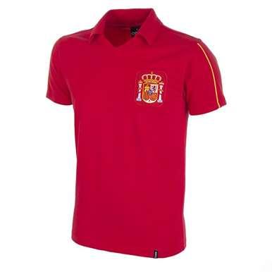 209   Spain 1980's Retro Football Shirt   1   COPA
