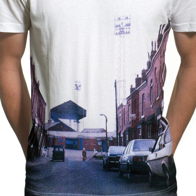 6655 | Stadium Street View V-Neck T-Shirt | White | 2 | COPA