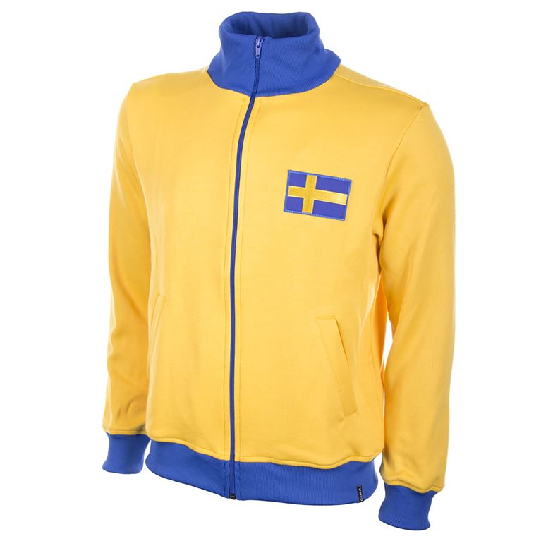 804 | Sweden 1970's Retro Football Jacket | 1 | COPA