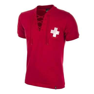 664 | Switzerland World Cup 1954 Retro Football Shirt | 1 | COPA