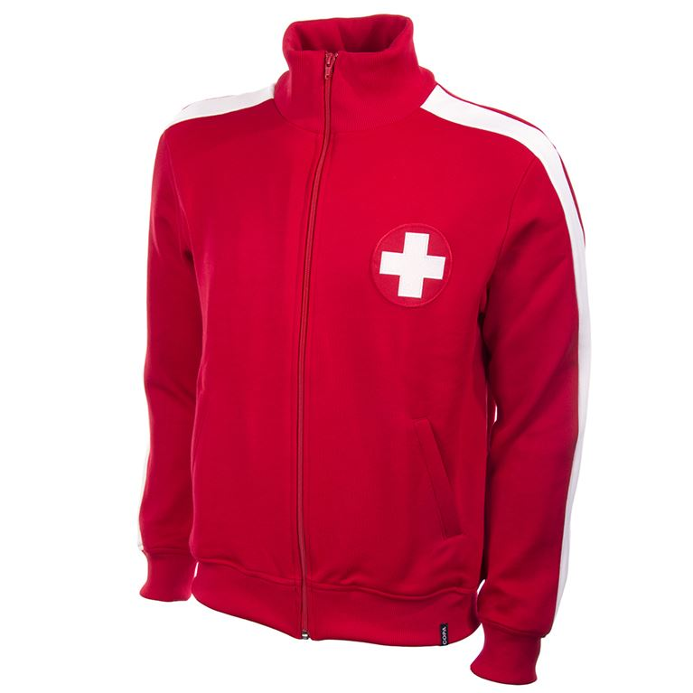 817 | Switzerland 1960's Retro Football Jacket | 1 | COPA