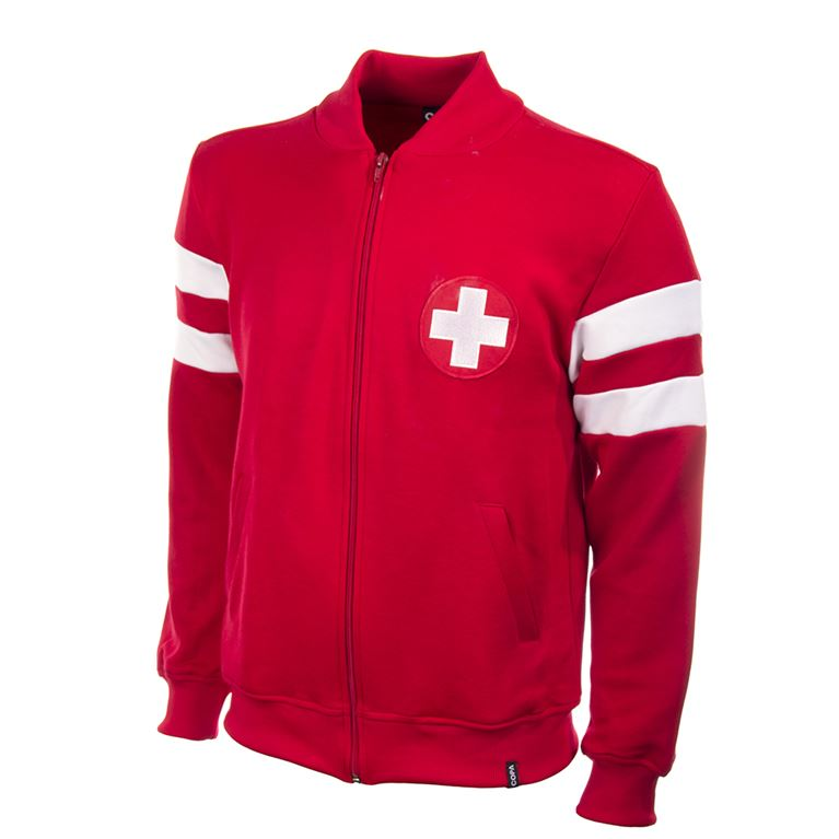 820 | Switzerland 1960's Retro Football Jacket | 1 | COPA