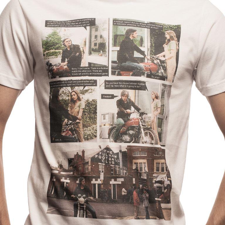 6630 | Tea or Football T-Shirt | White | 2 | COPA