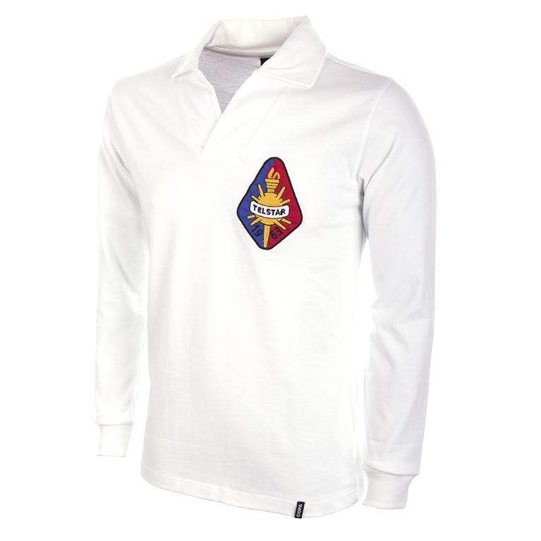 789 | Telstar 1960's Long Sleeve Retro Football Shirt | 1 | COPA