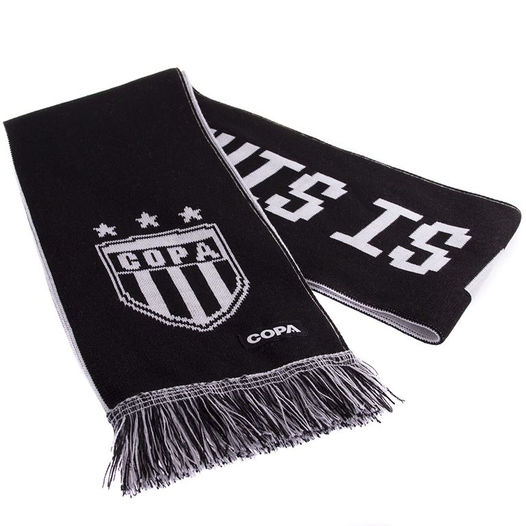 5040 | This Is My Church Scarf | Black-White | 1 | COPA