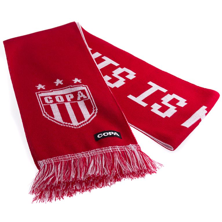 5041 | This Is My Church Scarf | Red-White | 1 | COPA