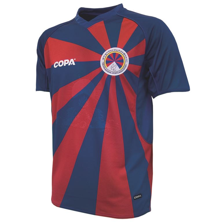 9100 | Tibet Home Short Sleeve Football Shirt | 1 | COPA