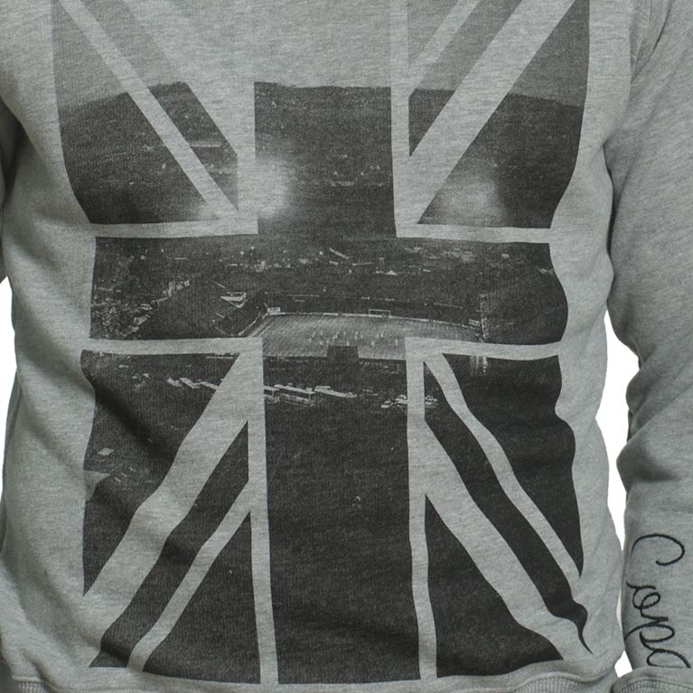 6445 | Union Jack Sweater | Grey Mêlée | 2 | COPA