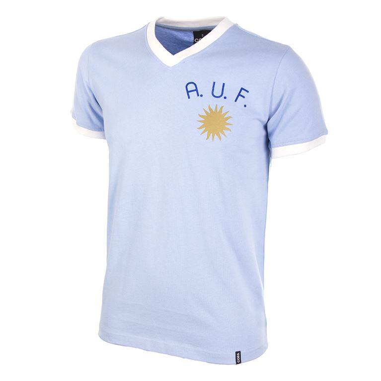 441 | Uruguay 1970's Short Sleeve Retro Football Shirt | 1 | COPA