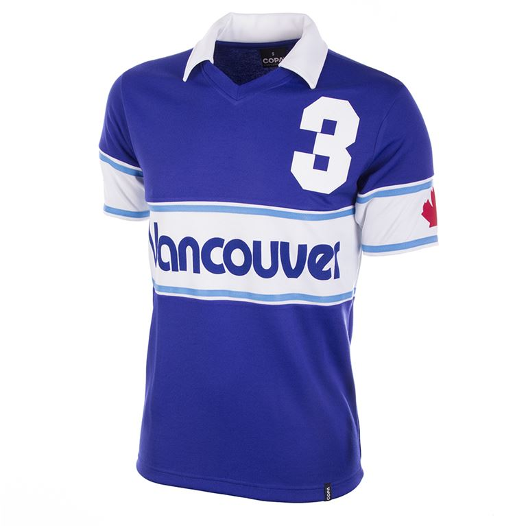 419 | Vancouver Whitecaps 1980 Short Sleeve Retro Football Shirt  | 1 | COPA
