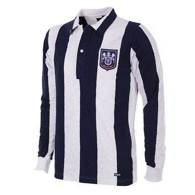 140 | West Bromwich Albion 1953 - 54 Retro Football Shirt | 1 | COPA