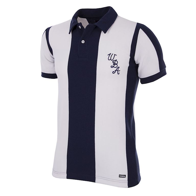 141 | West Bromwich Albion 1978 - 79 Short Sleeve Retro Football Shirt | 1 | COPA
