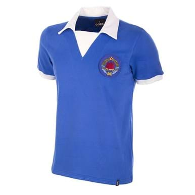 455 | Yugoslavia 1980's Retro Football Shirt | 1 | COPA