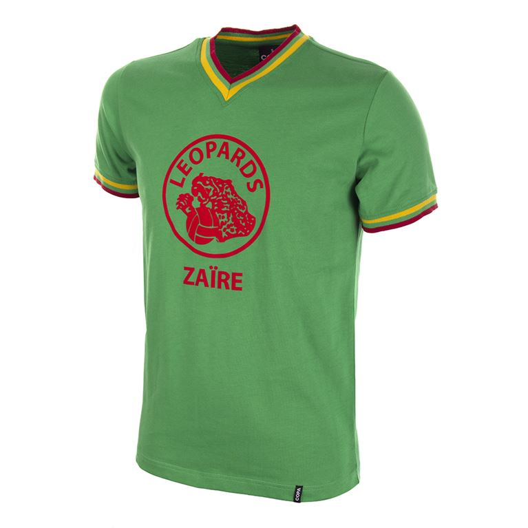 694 | Zaïre World Cup 1974 Qualification Short Sleeve Retro Football Shirt | 1 | COPA