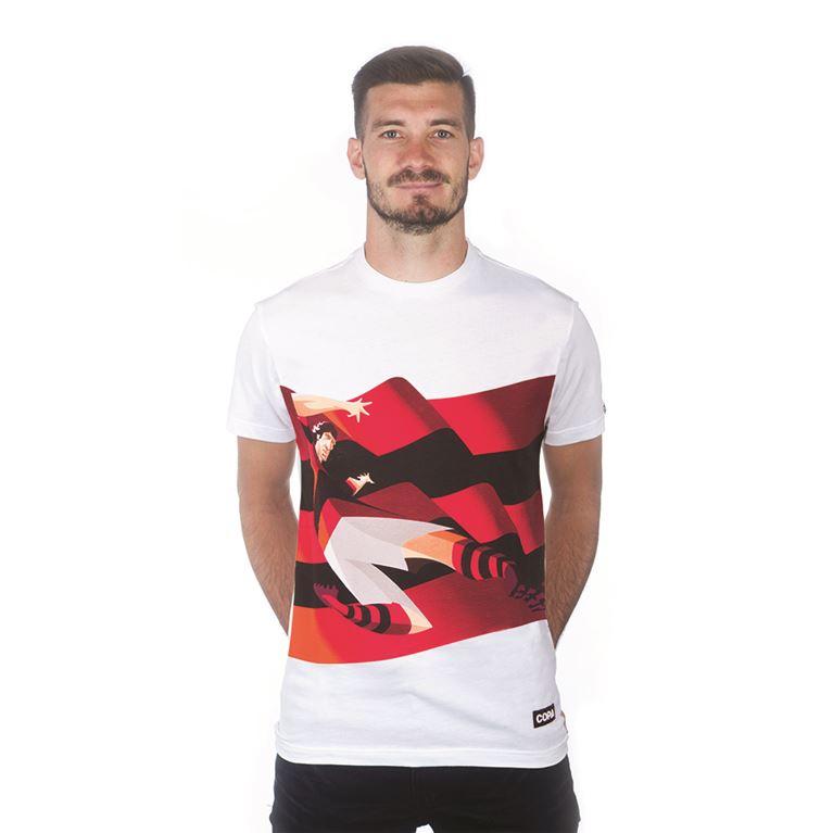 6714   Zico T-Shirt   White   1   COPA