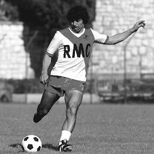 AS Monaco 1982 - 84 Retro Football Shirt | 2 | COPA