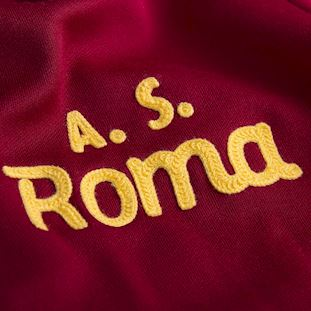 AS Roma 1974 - 75 Retro Voetbal Jack | 3 | COPA