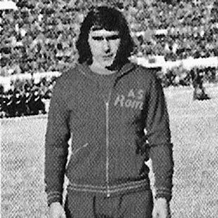 AS Roma 1974 - 75 Retro Voetbal Jack | 2 | COPA