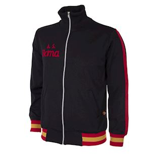 as-roma-1977-78-retro-football-jacket-black | 1 | COPA