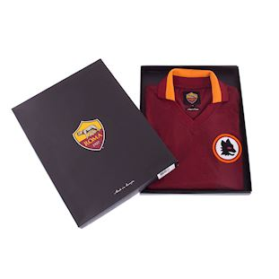 AS Roma 1978 - 79 Womens Retro Football Shirt | 6 | COPA