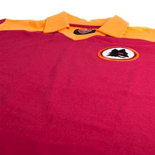 as-roma-1980-short-sleeve-retro-football-shirt-red | 5 | COPA
