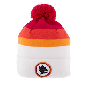 as-roma-away-retro-beanie-white | 1 | COPA
