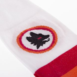 as-roma-away-retro-sock-white | 3 | COPA