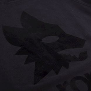 as-roma-black-out-retro-logo-sweater-black | 2 | COPA