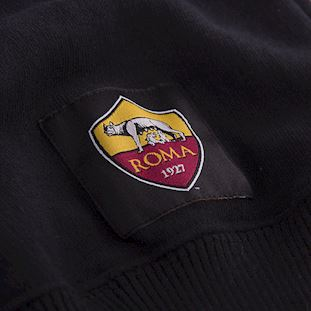 as-roma-black-out-retro-logo-sweater-black | 4 | COPA