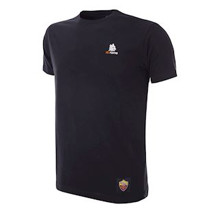 as-roma-lupetto-t-shirt-black | 1 | COPA