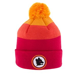as-roma-retro-beanie-red | 1 | COPA