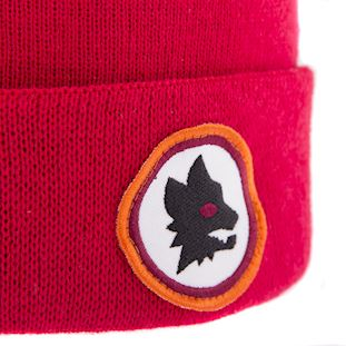 as-roma-retro-beanie-red | 2 | COPA