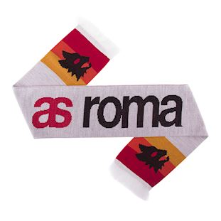 as-roma-retro-scarf-white | 1 | COPA