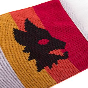 5043 | AS Roma Retro Scarf | 2 | COPA