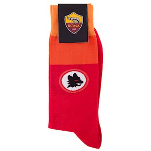 as-roma-retro-sock-red | 2 | COPA