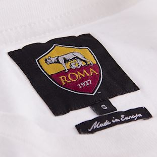 as-roma-retro-t-shirt-white | 3 | COPA