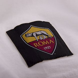 as-roma-retro-t-shirt-white | 4 | COPA