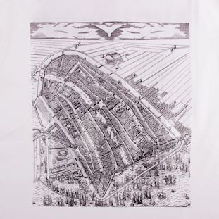 Amsterdam City Map T-Shirt | 3 | COPA