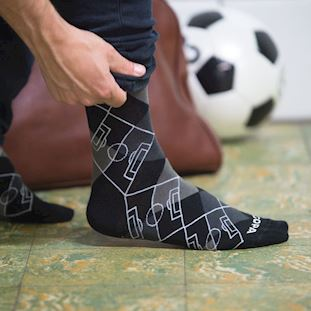 Argyle Football Pitch Socks | 5 | COPA