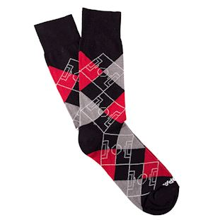 argyle-football-pitch-socks-black-red-grey-white-blackredgreywhite | 1 | COPA