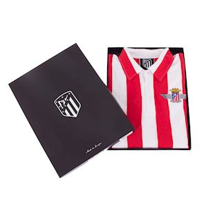 Atletico de Madrid 1939 - 40 Retro Football Shirt | 6 | COPA