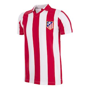 Atletico de Madrid 1985 - 86 Retro Football Shirt | 1 | COPA