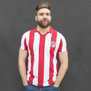 Atletico de Madrid 1985 - 86 Retro Football Shirt | 7 | COPA
