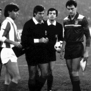 Atletico de Madrid 1986 Third Retro Football Shirt | 2 | COPA